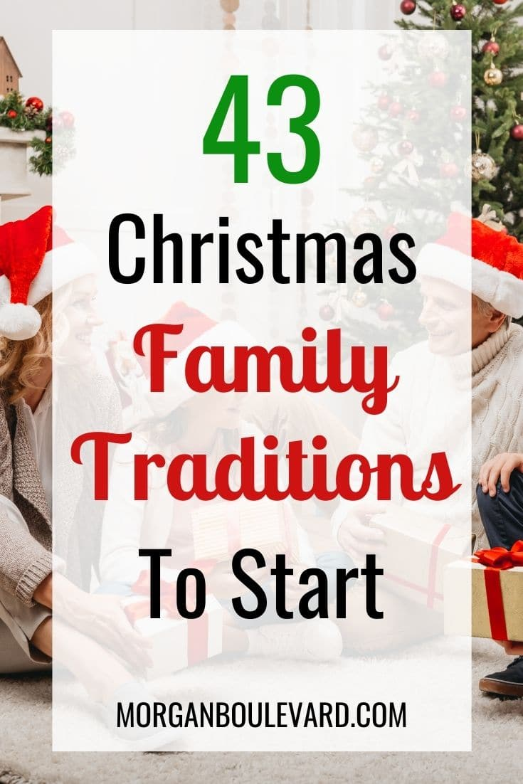 43 Christmas Family Traditions To Steal ASAP