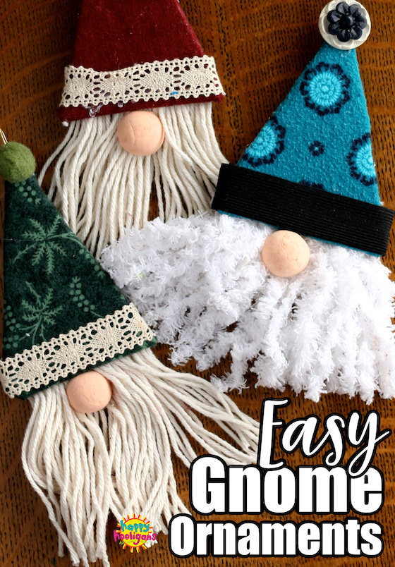 how to make gnome ornaments