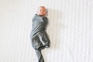 knotted swaddle step 5