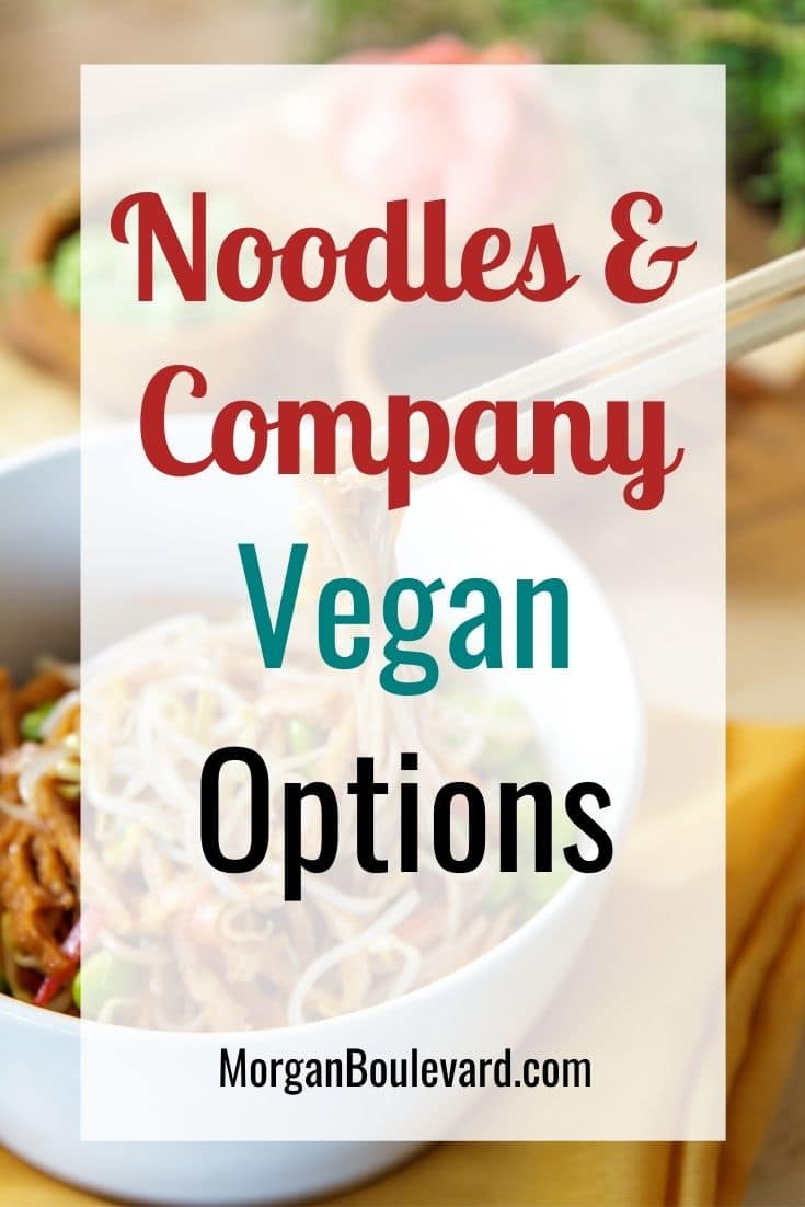 noodles and company vegan